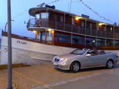 Vuokrataan hääauto Mercedes Clk