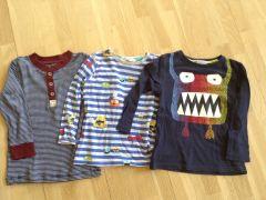 Lasten vaatteita kirppikselle
