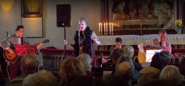 Shirley Sparks & The Red Band @ Pyhän Laurin Kirkko 4/16